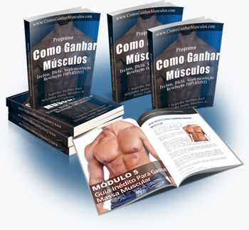 Guia para ganhar massa muscular