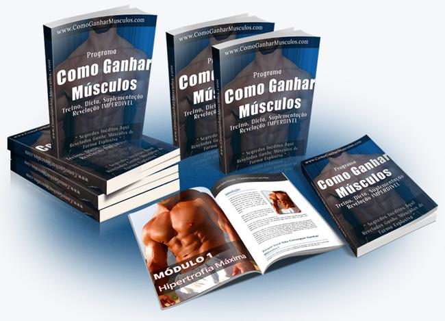 ebook Como Ganhar Músculos
